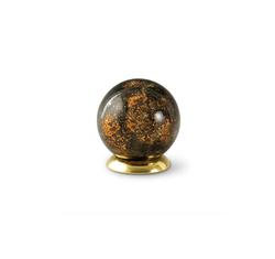 Glass Globe Keepsake - Amber