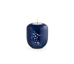 Swarovski Shooting Star Candleholder - Midnight Blue