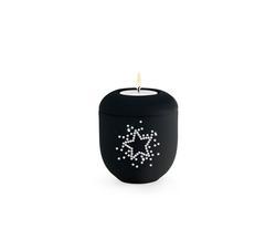 Swarovski Starry Sky Candleholder - Black