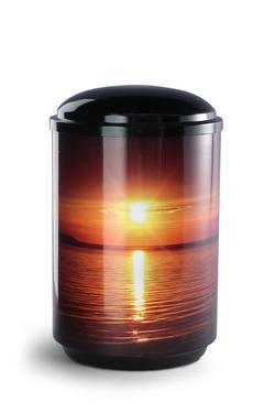 Steel Urn (Sunset)