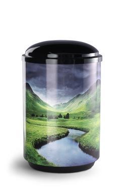 Steel Urn (River)