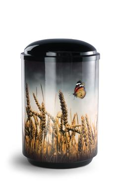Steel Urn (Wheat Field)