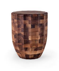 Wooden Urn - Walnut