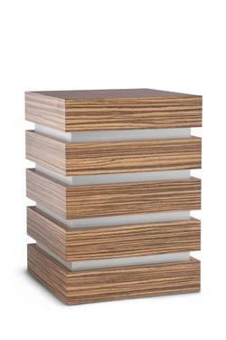 Wooden Urn (Padova Edition in Zebrano)