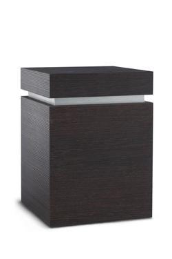 Wooden Urn (Ravenna Edition in Dark Bonobo)