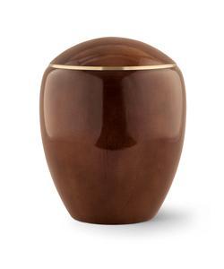 Wooden Urn (Round Top in Teak)
