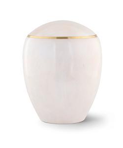 Wooden Urn (Round Top in White Birch)