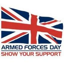 Are you supporting Armed Forces Day?