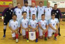 Craig Groves of Shaw's represents England at the IBSA Partially Sighted Football World Championships