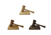 High-quality, practical Gavels and Blocks now available