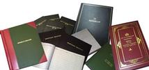 Bespoke book design and manufacturing service