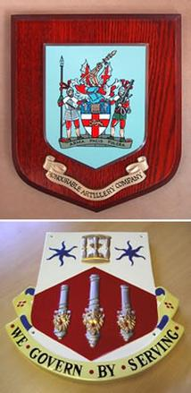 Heraldic Shields - Order Now for Christmas Delivery!