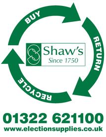Shaw's can help you clear up after the elections and prepare for future polls with our sundries pack recycling scheme